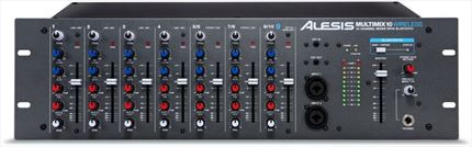 ALESIS Mezcladora de Rack MMA10WIRELESS de 10 Canales con conexión Bluetooth Wireless
