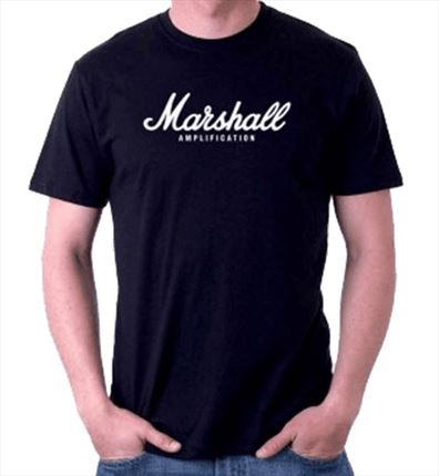 CAMISETA MARSHALL XL Negra