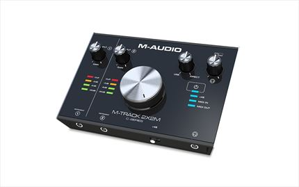 M-AUDIO M-TRACK 2X2 Interface Audio y MIDI 2X2 24bit/192kHz