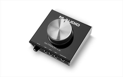 M-AUDIO M-TRACK HUB Interface Audio USB Hub de 3 Puertos