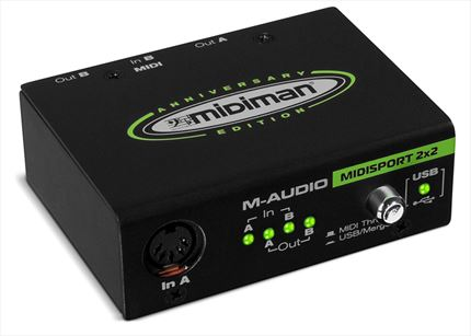 M-AUDIO MIDISPORT 2x2 Anniversary Edition Interfac