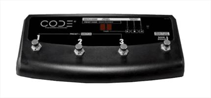 PEDALERA MARSHALL CODE SWITCH 4 Canales