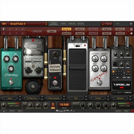 Software de guitarra para emulación de amplificadores  MAC/PC