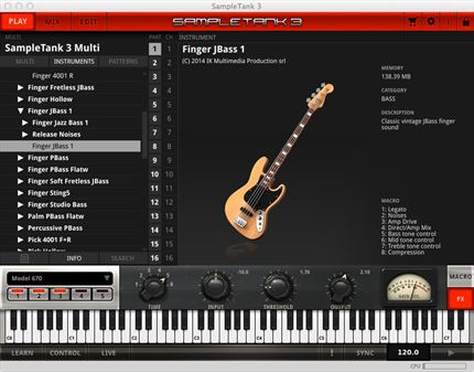 Software de Instrumentos Virtuales MAC/PC