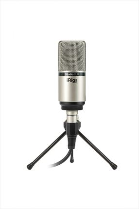 Ultra-compact large-diaphragm studio condenser microphone. XLR connector.